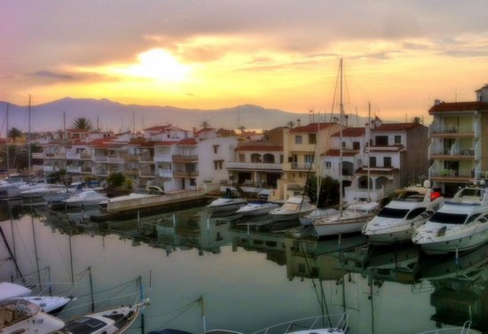 Port Salins Hotel: amanecer desde la habitación