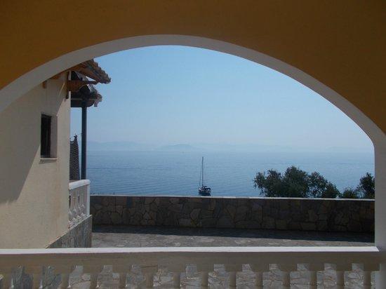 Dimitra Studios: View from balcony