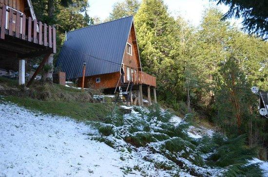 Villa Panil: Las cabañas