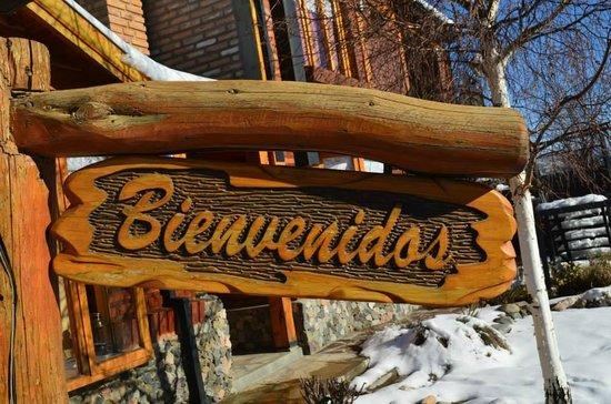 Cabanas La Herradura: Entrada