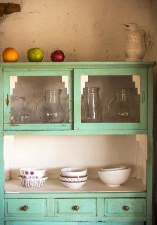 Chakana Hospedaje Rural: Muebles antiguos reciclados