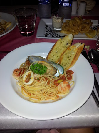 Dara Samui Beach Resort : spaghetti ai frutti di mare
