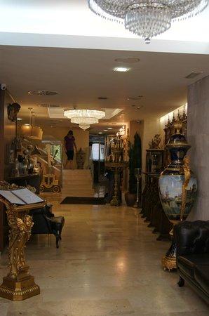 Hotel Centro Los Braseros: Le hall d'entrée