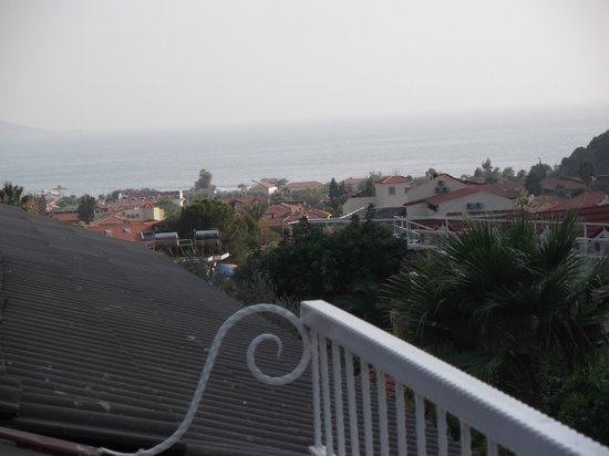 Hotel Morina: Nice to have a drink from the fridge and take in the view