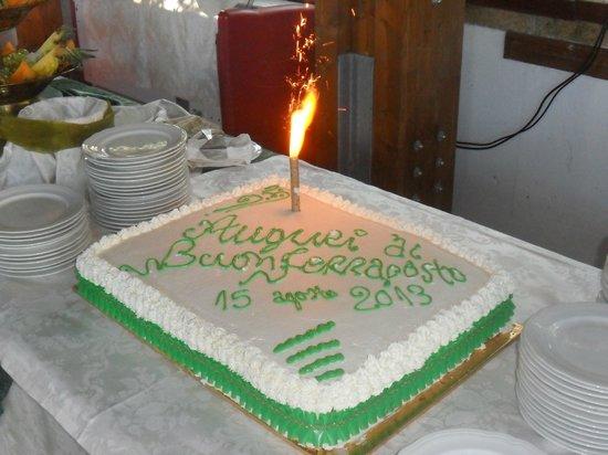 Al Focolare di Bacco: torta di Ferragosto