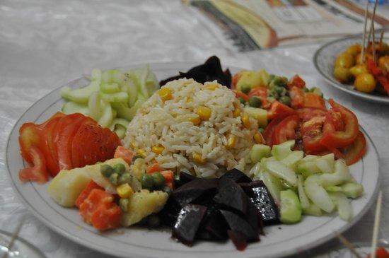 L'Auberge Berbere : Salade