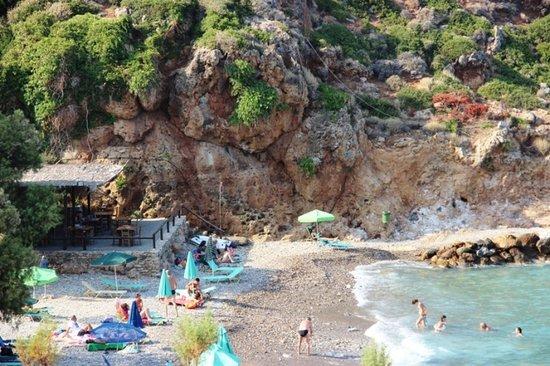 Platanias, Greece: Caletta di Afrata - Creta