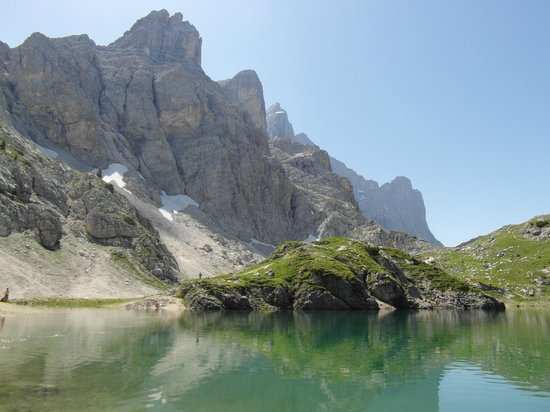 Lago di Coldai: Coldai e Civetta