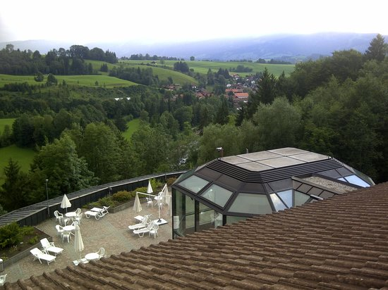 Allgau Stern Hotel: From the bar terrace
