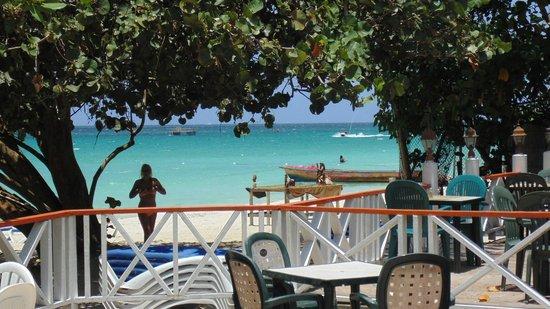 ميريلز بيتش ريزورت ذا سكند - شامل جميع الخدمات: Vista spiaggia dal ristorante