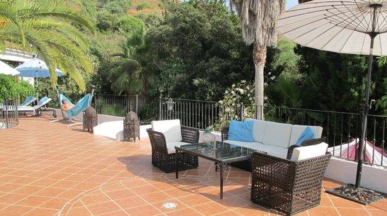 Jardines De La Reina Boutique Bed & Breakfast: Lounge area