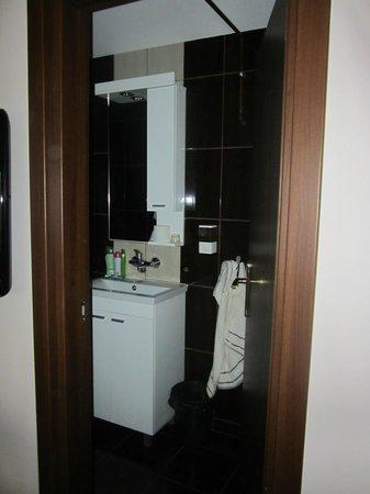 Apartments & Accommodation Novi Sad Stojic : Modern small bathroom