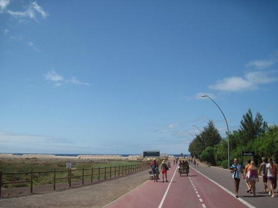 Faro de Jandia: morro jable passeggiata vicino all'oceano