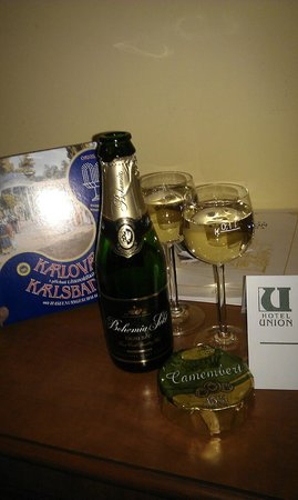 Hotel Union Prague: Подарки