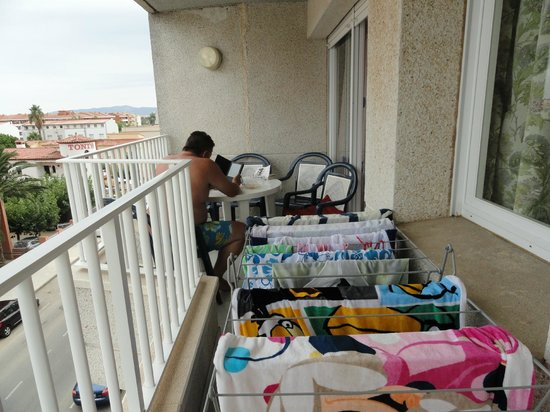 Centremar: Balcony