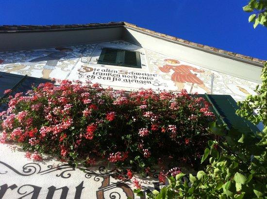 Restaurant Schutzenhaus: Historisch