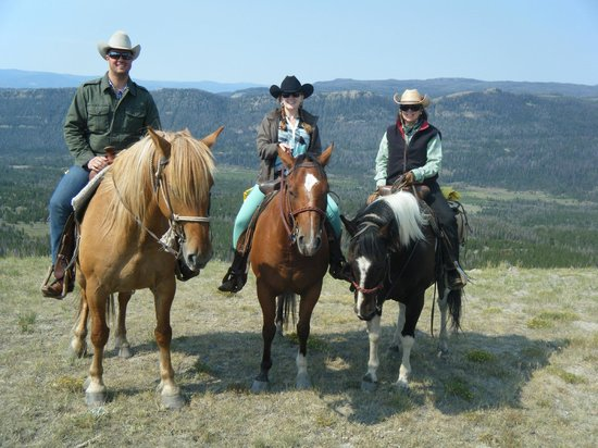 T Cross Ranch: Bog Lake ride