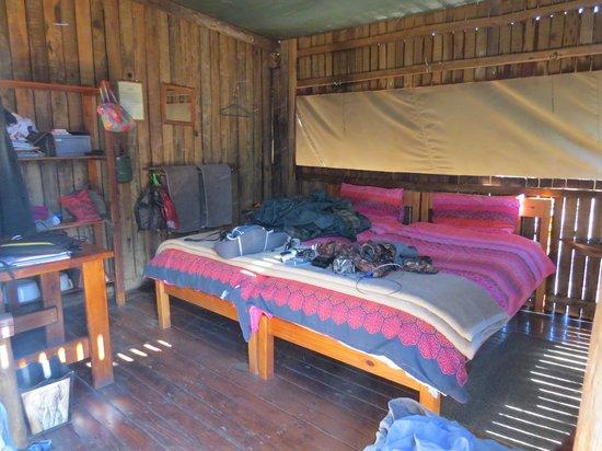 Mosetlha Bush Camp & Eco Lodge: Luxury camping