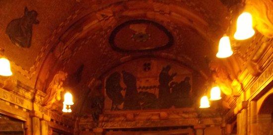 Black Friar : interno del pub