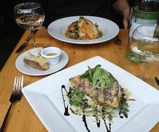 The Place : Caribbean Red Snapper and Roast Chicken