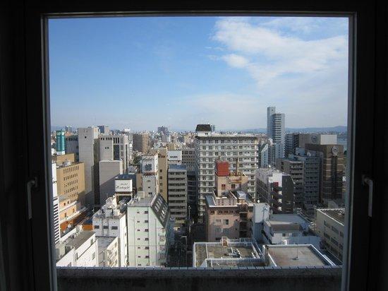 Hotel Plaza Osaka : 窓からの眺め
