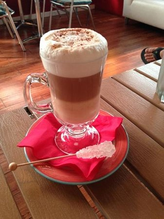 Le Petit Paris: Amazing latte!