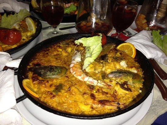 La Gran Paella Valenciana: Paella for one - delicious