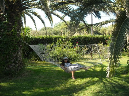 Villa Fleria Seaside Studios & Apts: Ώρες χαλάρωσης στην αιώρα!