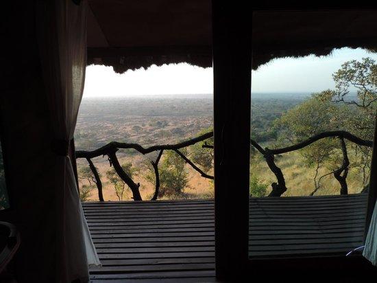 Serengeti Simba Lodge : View from bed