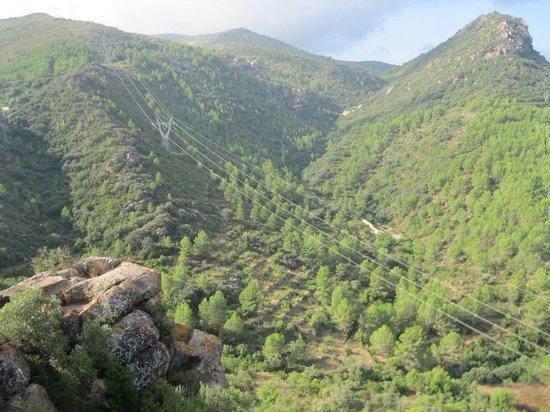 El Rullo: Vista desde castillo