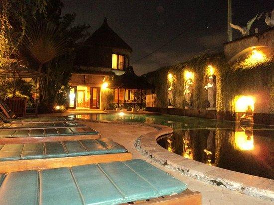 Dewani Villa: Pool area