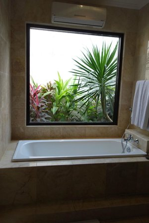 La Villais Exclusive Villa & Spa: view from bath