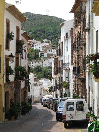 El Rullo: Calle La Font ( desde hotel )