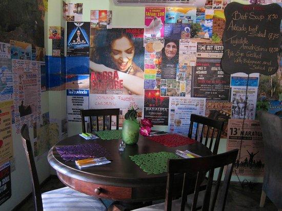 CORNER TABLE AT DONNA & GIORGIO'S IN BONAIRE