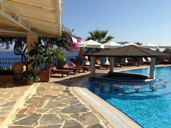 Hadrian Hotel: La piscine et le socializing bar