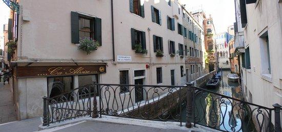 Albergo Ca' Alvise: Hôtel vue depuis le canal