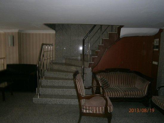 Hotel Pamphylia : вход в зону отдыха