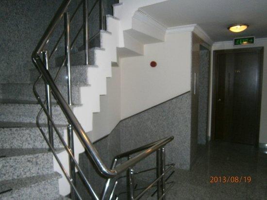Hotel Pamphylia : площадка на которой расположен лифт