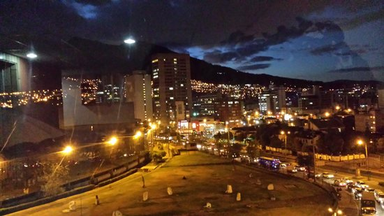 Tambo Real Hotel: our night view!!
