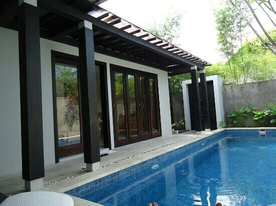 The Jineng Villas: the pool