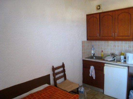 Adams Apartments : Kitchen area, room 204