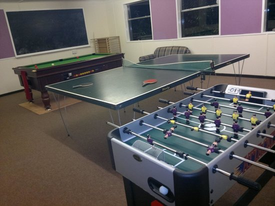 Ashlea Cottages: games room