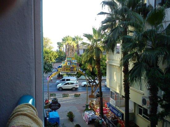 Sunway Hotel: Utsikt från rummet.