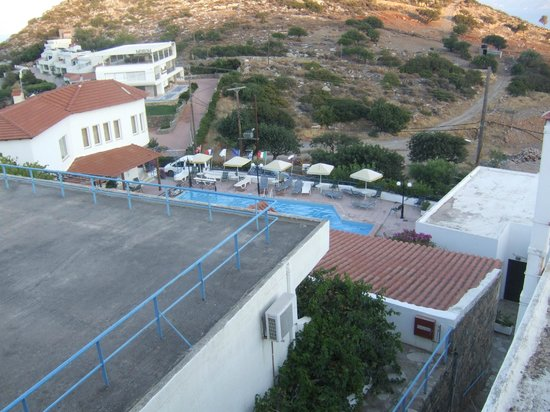 Kalithea Apartments : view from top in morning