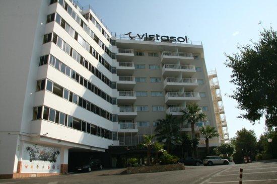 Apartamentos vistasol magalluf spanien omd men och for Appart hotel 41