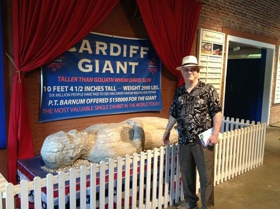 The Farmers' Museum: the Cardiff Giant