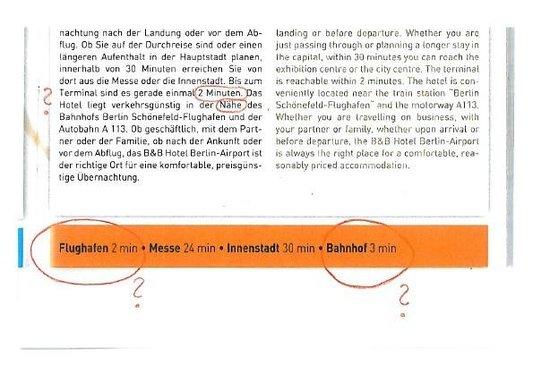 B&B Hotel Berlin-Airport: Frisierte Hotelinformationen