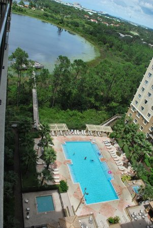 Lake Eve Resort : Vue du balcon