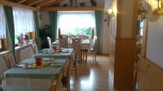 Pensione Runcac : sala ristorante