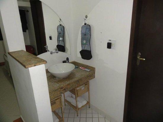 Pousada Porto Fino: Baño